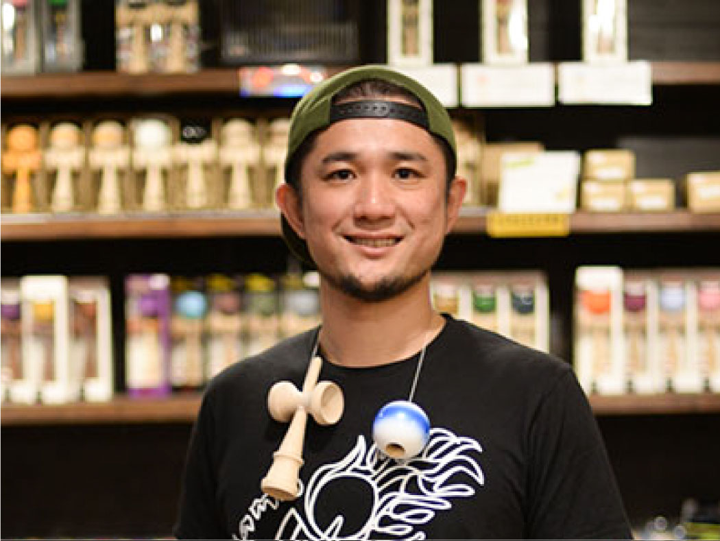 グローバルけん玉ネットワーク代表理事 窪田保氏